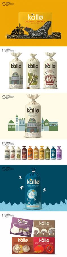 The Dieline Awards 2014: Prepared Food, 2nd Place – Kallo — The Dieline | Packaging & Branding Design & Innovation News
