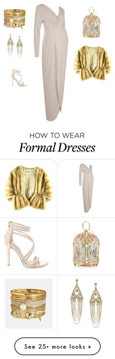 """Formal evening"" by edith-a-giles on Polyvore featuring Boohoo, Avenue, Lipsy and Steve Madden"