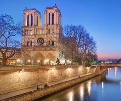 A masterpiece of Gothic architecture—all soaring buttresses, crouching gargoyles, and magnificent rose windows—Notre Dame has survived attacks of Huguenots, sansculottes, occupying armies, and questionable renovations since its completion in 1345. In spite of its often violent past, visitors flock to the cathedral for the hushed peace and reflection it provides, even in the midst of Paris.
