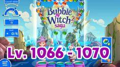 Bubble Witch Saga 2 Level 1066 - 1070 (1080p/60fps)