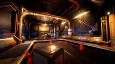 ArtStation - Spaceship interior2, Denis Rutkovsky