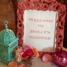 Holly's baby girl shower!
