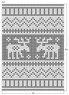 Best Ideas For Crochet Christmas Potholders Drops Design Crochet Placemat Patterns, Fair Isle Knitting Patterns, Fair Isle Pattern, Knitting Charts, Knitting Socks, Crochet Mandala, Filet Crochet, Mermaid Tails For Kids, Granny Square Bag