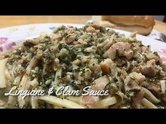 clam linguine recipe - Yahoo Video Search Results Linguine And Clams, Linguine Recipes, Clam Sauce, Risotto, Rice, Meat, Chicken, Ethnic Recipes, Search