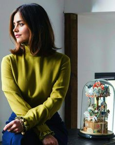 Jenna Coleman photographed by Andy Donohoe for The Telegraph Magazine (December 2016)