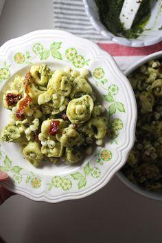 Ensalada De Tortellini Al Pesto en Pinterest | Tortellini Al Pesto ...