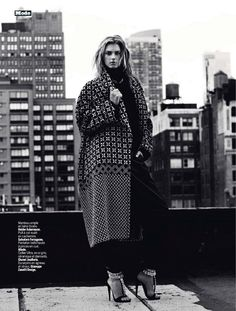 one woman show: sigrid agren by victor demarchelier for l'express styles 4th september 2013