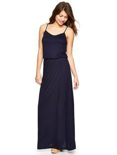 Cami Maxi Dress - navy from Gap on Catalog Spree