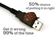Next USB will be reversible. Yes!
