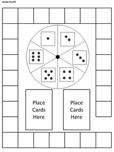 Blank Board Game Template Printables | Make Your Own Board Game ...