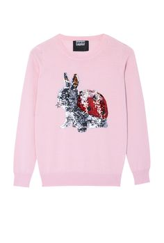 PRODUCT CODE: 938513 Bunnybird Sequin Emma Jumper By Markus Lupfer #MYWTRENDS #AW14 #POPCULTURE