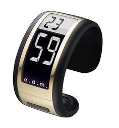 Odm Filmatic II-02 armband horloge | Hoge korting en GRATIS verzending Digital Alarm Clock, Watches, Design, Tag Watches, Wrist Watches, Wristwatches, Watch, Design Comics