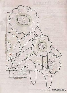 93 Applique of the month vasos de flores - maria cristina Coelho - Álbumes web de Picasa