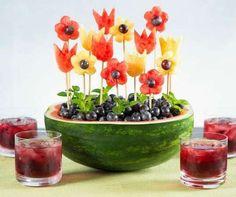 באופן אישי - שולחן יום הולדת בריא