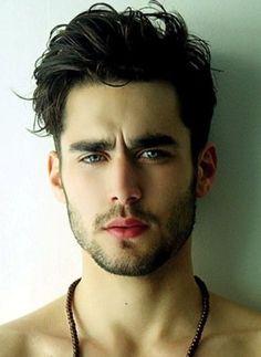 Men Messy Wavy Hairstyles