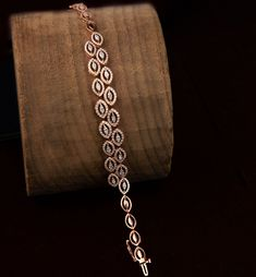 That Diamond Glow ✨ Check out this amazing diamond bracelet only on www. Pink Diamond Jewelry, Diamond Bracelets, Ankle Bracelets, Sterling Silver Bracelets, Jewelry Bracelets, Silver Jewelry, Ruby Bangles, Jewelry King, Dainty Jewelry