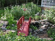 Garden Designs By Denise by Denise Sarett Connolly : HGTVGardens Ponds Backyard, Backyard Landscaping, Backyard Ideas, Garden Ideas, Landscape Drainage, Outside Living, Outdoor Living, Small Ponds, Garden Borders