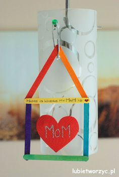Home is where your mom is ;)  #instrukcja #instruction #handmade #rekodzielo #DIY #handcraft #craft #lubietworzyc #howto #jakzrobic #instrucción #artesania #声明 #mama #mom #mother #mamá #妈妈 #DzienMamy #MothersDay #DíadelaMadre #母亲节 #dom #house #home #casa #住宅 #przedszkole #nurseryschool #kindergarden #escueladepárvulos #jardíndeinfancia #幼儿园