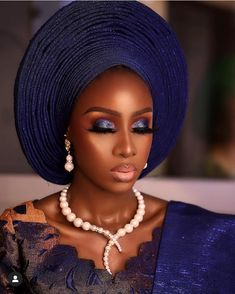 Beautiful Black Women, Beautiful Eyes, African Girl, African Style, African Beauty, Nigerian Wedding Dress, Traditional Wedding Attire, Black Royalty, Lace Dress Styles