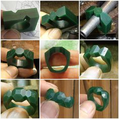 wax carving -- lost wax casting