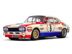Ford Capri 2600 LV Pepsi Spa 1973 by SRC Slot Car Racing, Slot Car Tracks, Slot Cars, Race Cars, Police Cars, Auto Racing, Ford Capri, Car Ford, Ford Gt