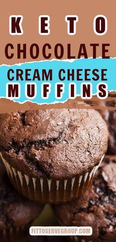 Low Carb Deserts, Low Carb Sweets, Keto Cake, Keto Cheesecake, Keto Cupcakes, Chocolate Cream Cheese, Low Carb Chocolate Cake, Chocolate Muffins Moist, Dark Chocolate Keto