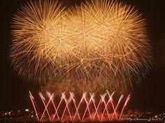 Fireworks in Nagaoka,Japan