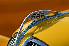 """1937 Plymouth """"Ship in Oval"""" Hood Ornament"""