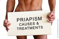 #Priapism is a condition in which the penis remains erect for a prolonged period without #sexual stimulation. Priapism is not related to sexual stimulation. Read more in today's post. #dailyhealthtips www.erectiledysfu...