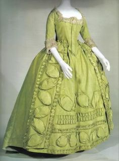 Robe a la francaise ca. 1780 by imogene