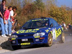 Subaru Impreza rally car GC8