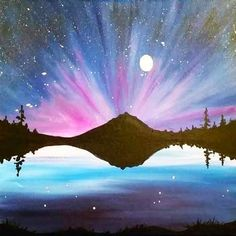 Canvas Painting Class on at Muse Paintbar Portland Wine Painting, Painting & Drawing, Pictures To Paint, Art Pictures, Wine And Canvas, Paint And Sip, Pastel Art, Acrylic Art, Painting Inspiration