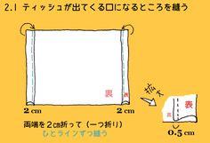 新!とっても簡単なティッシュボックスケースの作り方。BOXティッシュ カバー 箱ティッシュ | halu stamp FACTORY Nh 2, Sewing, Handmade, Hand Made, Needlework, Sew, Craft, Stitching, Costura