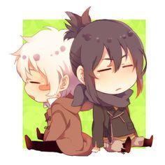 Shion et Nezumi