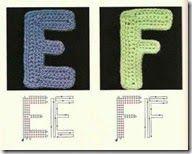 alphabet 3 crochet craze, haken groepsbord, crochet gift, crochet idea, complemento crochet