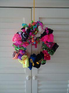 panty wreath
