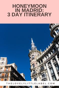 Considering a trip to the beautiful Spanish capital? At The Lovely Little Label, we have a itinerary for you and your loved one. Here, you will find the best places to eat, drink and stay. Wedding Blog, Fall Wedding, Wedding Ideas, Spanish Red Wine, Romantic Honeymoon, Weekend Breaks, Bohemian Bride, Group Tours, Best Places To Eat