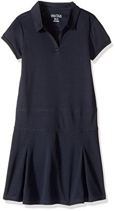 Product review for Nautica Girls' Short Sleeve Knit Performance Dress – Ladies Clothing Reviews