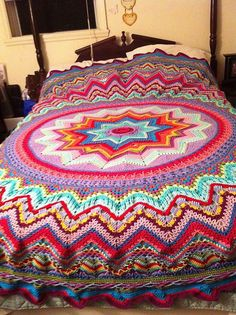 Ravelry: LuvizBlind's Lucy in the Sky (Frank ORandle's Galaxy of Change made with Lucy Pack)  I just can't find enough words to describe how much I love this!