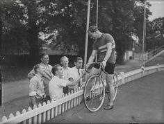 Reg Harris, Olympic Games, London, 1948. by National Media Museum, via Flickr