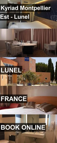 Hotel Kyriad Montpellier Est - Lunel in Lunel, France. For more information, photos, reviews and best prices please follow the link. #France #Lunel #KyriadMontpellierEst-Lunel #hotel #travel #vacation