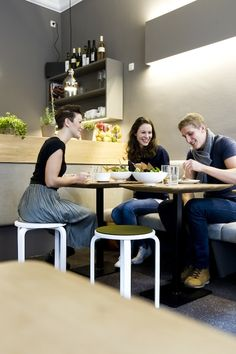 Community Dining!  @Gratitude-organic eatery