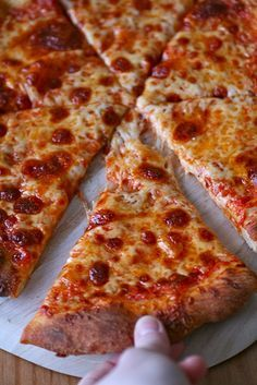 Thin Crust Pizza: recipe for the dough needs to be made at least 24 hrs in advance but can be frozen until needed.