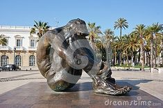 Monument by Victor Ochoa devoted to victims of terrorism situated in Cartagena, Murcia, Spain