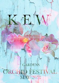 Kew Gardens, Orchids, Graphics, Poster, Art, Craft Art, Graphic Design, Lilies, Posters