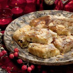 Stollenbutterkuchen mit Marzipan