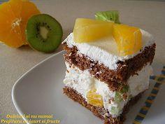 Bucatar maniac si prietenii: Prajitura cu iaurt si fructe