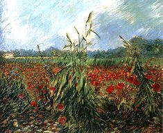 urgetocreate:  Vincent van Gogh, Green Ears of Wheat, 1888