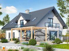 Projekt domu Dom w rododendronach 15 (G2N) - ARCHON+ Gazebo, Pergola, Home Fashion, Exterior, Outdoor Structures, Cabin, House Styles, Modern, Home Decor