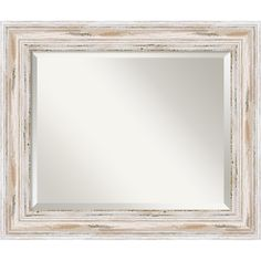 Amanti Art Alexandria Rectangle Wall Mirror